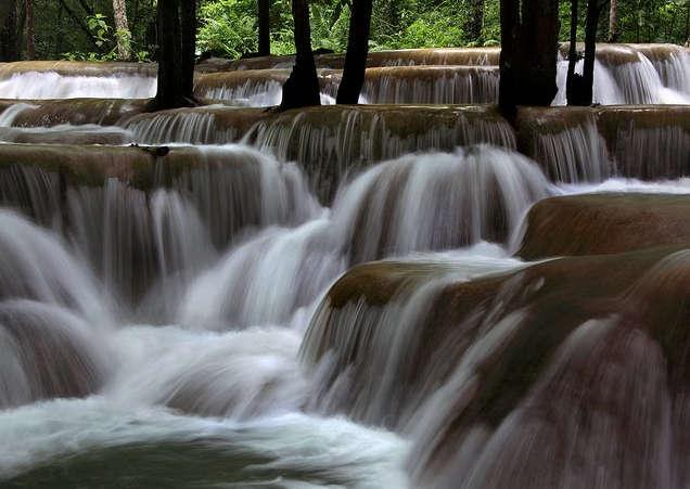 Chiêm ngưỡng thác Kuang Si - Thiên đường của du lịch Lào